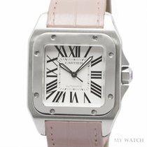 カルティエ (Cartier) Eightday watch Santos 100 W20126X8 NEW