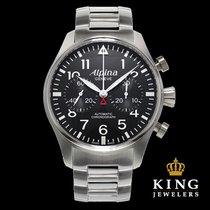 Alpina Startimer Pilot Chronograph Stainless Steel