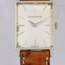 Jaeger-LeCoultre Rectangular silver dial Vintage JLC Dresswatc...