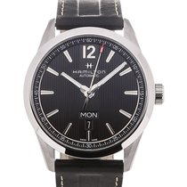 Hamilton Broadway 42 Day Date Black Dial