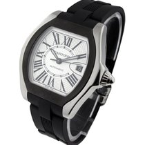 Cartier W6206018 Roadster S with Rubber Strap and Bezel -...