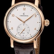 Chronoswiss Sirius Manufacture Red Gold-Silver Dial 40mm CH1021R