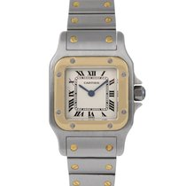 Cartier Santos Ladies Steel & Gold, Ref: 1567