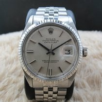 Rolex DATEJUST 1601 SS ORIGINAL Silver (No Lume) Dial with...