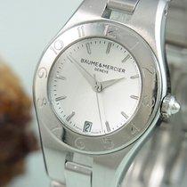 Baume & Mercier Damenuhr Saphirglas Datum Anzeige M0a10070