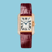 Cartier TANK ANGLAISE 30 Rotgold -NEU- incl. VAT Export possible