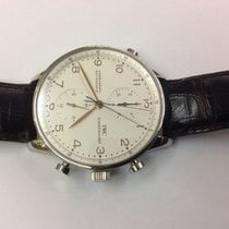 IWC Portuguaise Chronograph Rattrapante stainless steel