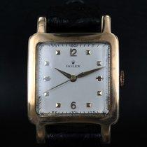 Rolex Square case yellow gold Vintage cal 710