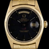 Rolex 18k Y/G Very Rare Sultan Of Oman Dial Day-Date 1803