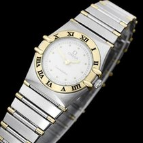Omega Ladies Constellation Mini 22mm Watch, White Dial, 18K...