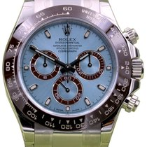 Rolex Cosmograph Daytona 116506 Ice Blue Index Chestnut Brown...
