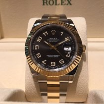 Rolex Datejust II 41mm Steel and Gold B&P