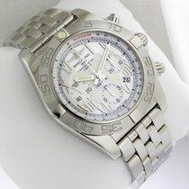 Breitling Chronomat 44 Chrono 44mm ab011011/g676-ss Silver Dial