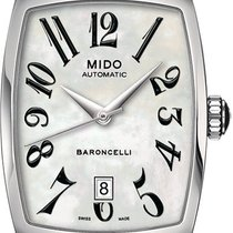 Mido Woman's Watch Tonneau White Ref. M0031071111200