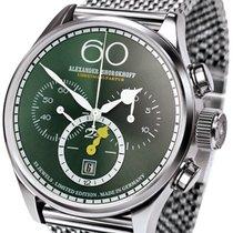 Alexander Shorokhoff Vintage AS.V2-G-M mit smaragdgrünem...