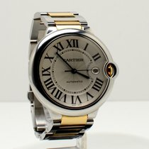 Cartier W69009Z3 Ballon Bleu - Large Size with Silver Dial -