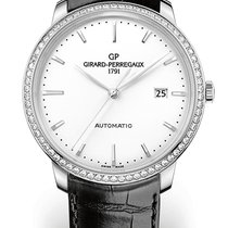 Girard Perregaux 1966 40 MM Steel Strap Black With topping...