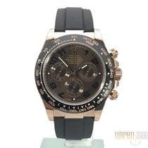 Rolex Daytona 18 kt Everose-Gold / Oysterflex Ref. 116515LN