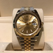 Rolex Datejust 41mm Stell and Gold Jubilee B&P