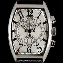 Franck Muller Stainless Steel Silver Dial Chronobiretro...