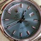 Rolex DAYDATE WEISSGOLD REF 118209 [118206] +LC EU+WIE NEU UNIKAT