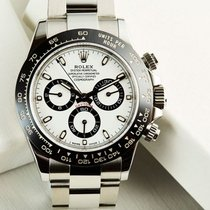 Rolex DAYTONA LAST MODEL CERAMIC BEZEL WHITE DIAL