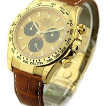 Rolex Unworn 116518 Yellow Gold DAYTONA on Strap 116518 - Paul...