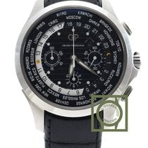 Girard Perregaux Traveller WW.TC Chrono 44mm Black Dial...