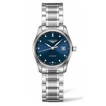 Longines Master Automatic Stainless Steel Blue Dial Ladies Watch
