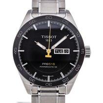Tissot PRS 516 Powermatic 80 Black Dial Men's Watch