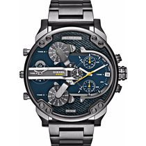 Diesel Mr. Daddy 2.0 Grey/Gunmetal Blue DZ7331