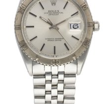 Rolex STEEL & WHITE GOLD OYSTER PERPETUAL DATEJUST TURNOGRAPH