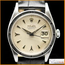 Rolex OYSTERDATE PERPETUAL Ref 6535 with Honeycomb Dial Very Rare