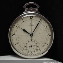 Omega Art Deco Pocket Watch with Sector dial