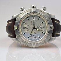 Breitling Galactic Chronograph II Stahl A13364 - unpoliert