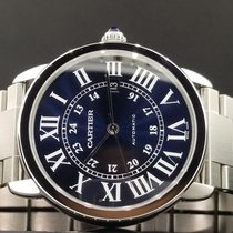 Cartier Ronde Solo De Watch 42mm Stainless Steel Ref WSRN0023...