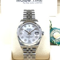 Rolex 178274 31mm Datejust Lady White MOP Diamond Dial [NEW]