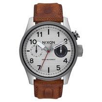 Nixon Reloj NIXON Safari hombre plateado