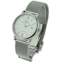 IWC IW356505 Portofino 41mm Automatic in Steel - on Steel...