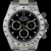 Rolex Stainless Steel O/P Black Dial Cosmograph Daytona 116520
