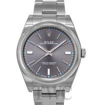 ロレックス (Rolex) Perpetual 39 Grey/Steel 39mm - 114300
