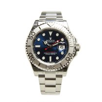 勞力士 (Rolex) Yacht Master White Gold And Steel Blue Automatic...