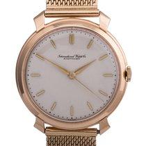 IWC vintage 18k yellow gold Gent's wristwatch