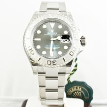 Rolex 40mm Yachtmaster 116622 Rhodium Dial Full Stickers