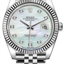 Rolex Datejust 41mm Stainless Steel 126334 MOP Diamond Jubilee