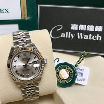 Rolex Cally - New 2017 28mm Datejust 279174 Silver Roman 銀色羅馬面