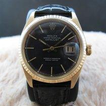 Rolex DATEJUST 1601 18K YG with Original Brownish Grey Dial
