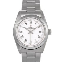 Rolex Oyster Perpetual Midsize White Roman Numeral Dial Ref:...