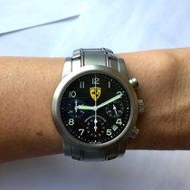 38mm Girard-perregaux Ferrari Chronograph Stainless Steel...