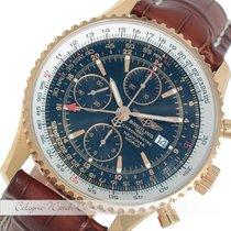 Breitling Navitimer World GMT Chronograph Rosegold H24322